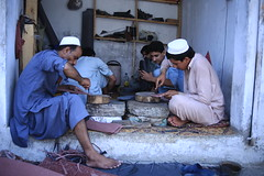 Chappal maker (Akhuwat BPP) Tags: charsada pakistan interest free loans microfinance entrepreneurship pakhtoon ordinary people small business akhuwat chappal making shoe kheri