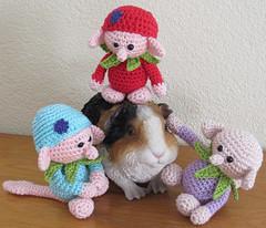 grappige ondeugende trollen (hvanzuijlekom) Tags: gehaakt crochet knuffels katoen acryl trollen lief
