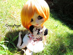 Summer with Cristal (xxpullipstylexx) Tags: pullip cristal summer jardin plein air exterieur roux newmakeup newcusto