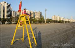 Catharina (Stefan Lambauer) Tags: catharina lifeguard kid criana menina infant salvavidas guardavidas cadeira chair praia beach pontadapraia stefanlambauer 2016 brasil brazil santos sopaulo br