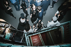 Boiler Room BRSSLS Atomium_SETS 012 (Caroline Lessire) Tags: boiler room cubanisto lefto ujk atomium samiyam ltgl pomrad live event exceptional monument patrimoine belgium brussels music atmosphere photography