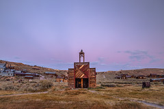 Anti-Crepuscular Rays in Belt of Venus at Bodie (Jeff Sullivan (www.JeffSullivanPhotography.com)) Tags: sunset beltofvenus night photography workshop bodie state historic park eastern sierra bridgeport mono county california united states usa landscape canon eos 6d photo copyright 2016 jeff sullivan august pink purple blue abandoned rural decay wildwest ghosttown anticrepuscular rays photomatixpro