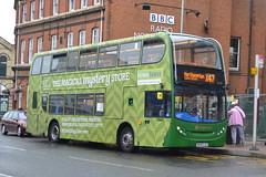 Stagecoach Scania N230UD 15453 MX08GJE - Northampton (dwb transport photos) Tags: stagecoach scania alexander dennis enviro bus decker 15453 mx08gje northampton
