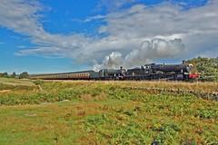 GWR Double (paul_braybrook) Tags: 7822 foxcotemanor 2807 gwr greatwestern steamlocomotive goathland grosmont pickering northyorkshiremoors nymr trains railway