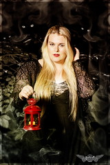 ~ Candlestick ~ (pitbull2mk) Tags: pb2mkpitbull2mkklimapiclastella dark art blonde candlestick beauty curvy decollete red darkart