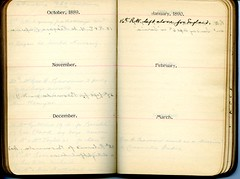 Diary of Robert Wallace p.21 (Community Archives of Belleville & Hastings County) Tags: 1880s 1890s 1900s 1910s 1920s diaries homechildren