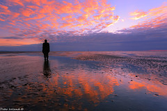Another Place (Peter Ireland) Tags: liverpool crosby antonygormley sunsetstatues sculptures 5dmiiilandscapes waterscapes