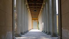 20160901 Potsdam Schloss LIndstedt Sulen Weg Ketzin-Brandenburg-Radtour (10) (j.ardin) Tags: deutschland germany allemagne alemania brandenburg potsdam schlosslindstedt sule pillar column pile columna