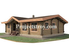 (projectstroy) Tags: project plan drawing design architecture 3d rendering woode wood home house blockhome sauna hamam
