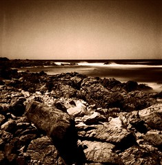 Wrath of Poseidon 2 (Claudio Taras) Tags: claudio contrasto taras shadow sardegna sepia rolleiflex35f rodinal rollfilm 120 6x6 analog fomapan landscape grain grana ndx1000 digitaltoned