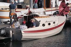 "IMG_2258 - Port Townsend WA - Port Hudson Marina - 2016 40th Annual Wooden Boat Festival - John Welsford-designed Penguin-class SV STELLA MARIS (BlackShoe1) Tags: washington wa washingtonstate olympicpeninsula porttownsendwa boat boatfestival woodenboat classicwoodenboat woodboat ""northwest maritime center"" ""wooden foundation"" wbf nwmc ""port hudson"" wash pacificnorthwest pugetsound jeffersoncounty eastjeffersoncounty quimperpeninsula porttownsend victorianseaport welsford penguin stellamaris"