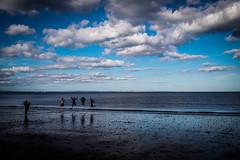 L1000085 (Bruno Meyer Photography) Tags: portobello edinburgh scotland visitscotland sea travel clouds sky skyline reflection people jump play silhouette leica leicaimages leicacamera leicam240 leicacamerafrance leicalens 35mm summarit