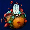 Pumpkin (mikehaui60) Tags: olympusomdem1 omd em1 mft tabletop pumpkin tischdeko herbst kerzenhalter square produktfotografie