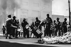 People Protesting (RaaClavellino) Tags: people protesting black white homeless bnw poor