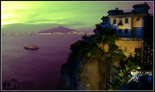 Quiet Night on Sorrento - Gulf of Vesuvius - Italy