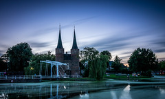 Gates of Delft (Mika Laitinen) Tags: canon7dmarkii delft europe leefilters netherlands tokina1116mm architecture city cityscape color colorful dusk longexposure nightfall oldbuilding outdoor sky summer sunset twilight water wideangle zuidholland nl