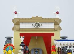 The Temple (Cuahchic) Tags: lego aztecs temple sacrifice duel foitsop minifig mesoamerica priest