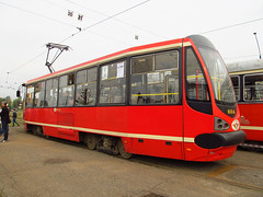 Konstal/Modertrans 105N-AC, #664, Tramwaje lskie (transport131) Tags: tram tramwaj bdzin t kzk gop konstalmodertrans 105nac zajezdnia depot