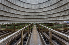 _O7A8946 (AntonyCASAFilms) Tags: urbex ue abandoned derelict cooling tower power station belgium green moss concrete