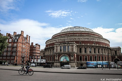 Royal Albert Hall (Kieran Williams Photography) Tags: colour color composition comment canon camera contrast cold colors colours city clouds angle architecture view viewpoint sky speed shutter shadow saturate silhouette skyline saturation photo photography perspective priority pattern light like life landscape lens lights low london lines leadinglines blue