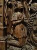 ca. 1520-1530 - 'altarpiece with Antoine de Lescure', former Église Notre-Dame, Lescure-Jaoul, dép. Aveyron, Musée des Arts Décoratifs, Paris, France (RO EL (Roel Renmans)) Tags: 1520 1530 altarpiece retable retabel altar triptych antoine de lescure aveyron lescurejaoul france occitanie retablo musée des arts decoratifs paris museum les donor donateur opdrachtgever armour armure harnisch harnas armadura surcoat surcotte wapenrok waffenrock praying prayer crucifixion kreuzigung kneeling heraldry noyer walnut renaissance