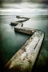 Twist and Turn (Nick.Coombs) Tags: pier sea water scotland seascape texture long exposure saint monans east coast