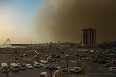 Sandstorm (frapho) Tags: jeddah middleeast saudiarabia sandstorm