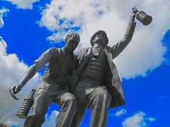 Senghenydd Disaster (Vertigo Rod) Tags: senghenydd abervalley caerphilly pit coal disaster 1913 statue monument memorial garden