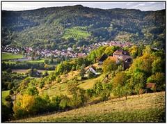 Burg Waldenstein (almresi1) Tags: rudersberg burg waldenstein tal berge herbst colours