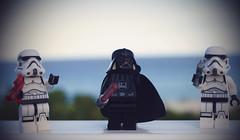 Lord Vader conquering new galaxies (GabitAmezcua) Tags: lordvaderstarwars lego vader stormtrooper