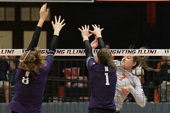 Hands (RPahre) Tags: universityofillinois illinois champaign huffhall huff volleyball net hands block robertpahrephotography copyrighted donotusewithoutwrittenpermission