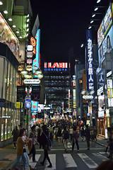 Walking around Shibuya (Tokyo - ) (Doncardona) Tags: shibuya signs lights night  tokyo tokio  japan japon nippon nihon  asia asiatrip worldtraveler jpworldtraveler travel trip adventure journey nikon nikon3100 3100