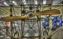 The Worlds Oldest Flying Aircraft (Darwinsgift) Tags: shuttleworth collection aviation museum old warden bedfordshire vintage aircraft bleriot xi nikkor 20mm f18 g nikon d810 hdr photomatix antique 1909