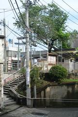 tokyo6009 (tanayan) Tags: urban town cityscape tokyo japan nikon j1 road street alley    jyujo slope jizozaka
