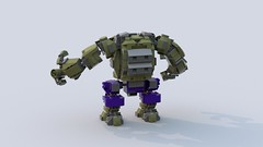 Hulk Gamma suit by Freddy Tan (minimal_aya) Tags: hulk gamma suit freddy tan lego