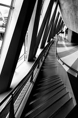 IMG_20160717_115303_DSC_3452-1 (TheGufotography) Tags: germany stuttgart daimlermuseum pattern stairs blackandwhite bw architecture art building indoor light symmetry