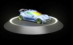 new stratos racecar concept!! (Option!) Tags: race car racing stratos concept gt supergt auto racecar sportscar spoiler winglet iridescent fast liberty walk offset azure coup 2 seater