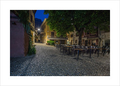 Malcesine Streets II (andyrousephotography) Tags: italy lakegarda malcesine postcard image town oldtown oldeworlde streets tourists tourism shops bars restaurants locals deserted quite dawn morning bluehour andyrouse canon eos 5d mkiii