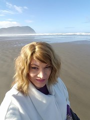 Susan at the beach seaside oregon (2) (susanmiller64) Tags: crossdresser cd tg transgender gender tgirl susan miller portland oregon beach seaside coast