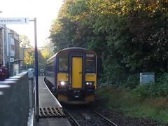 153377 & 153368 Penryn (1) (Marky7890) Tags: gwr 153368 class153 supersprinter 2t69 penryn railway station cornwall train 153377 maritimeline