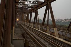 7M1A8418 (gmacfadyen) Tags: train long bien bridge hanoi cau ha noi vietnam red river