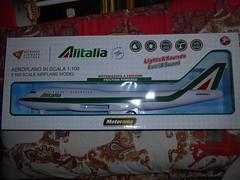Alitalia cheap plane (ItalianToys) Tags: toy toys giocattolo giocattoli aereo airplane aeroplano