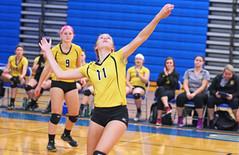 IMG_10391 (SJH Foto) Tags: girls volleyball high school lampeterstrasburg lampeter strasburg solanco team tween teen east teenager varsity spike burst mode