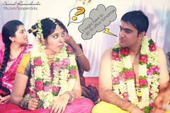 Important discussions ;-) (Arvind Ramachander) Tags: wedding hilarious funny comic indian south cartoon tamil iyengar iyer
