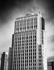 PacBell Building (Ron Rothbart) Tags: sanfrancisco california longexposure blackandwhite bw building monochrome architecture nd neutraldensityfilter 10stopfilter