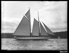 Schooner ADA on Sydney Harbour