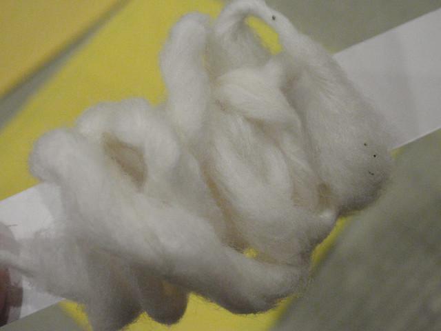 綿をつくるコーナー キッズプラザ大阪