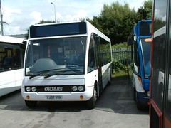 Stagecoach North West Optare Solo YJ07 VRK on loan from Optare (nsf323) Tags: stagecoachnorthwest fleetwoodoutstation
