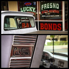 fresno bail bonds (thermophle) Tags: california classic car diptych fresno bonds custom bail