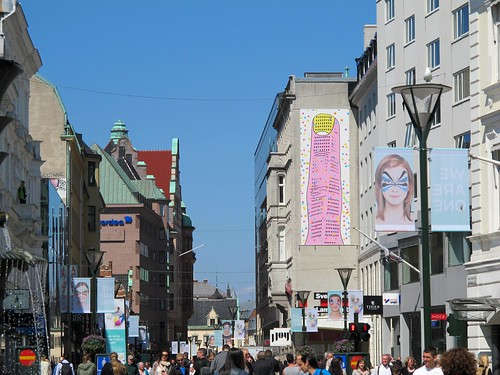 Södergatan in ESC Week